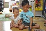 みなみ4歳2ヶ月&あおい8ヵ月♪の画像(5枚目)