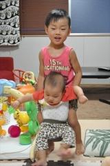 みなみ4歳2ヶ月&あおい8ヵ月♪の画像(33枚目)