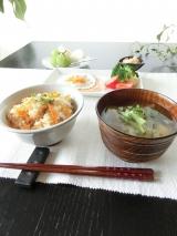 「ある日の朝食 海の精 炊き込みごはんの味」の画像(1枚目)