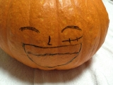 「ハロウィンかぼちゃ」お化けランタン作りに挑戦!コンテスト入賞で特産品GET♪  に当選したのです。。の画像(3枚目)