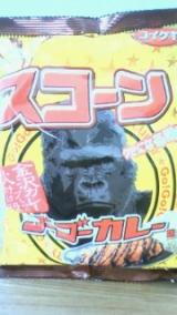 コイケヤさんのスコーン ゴーゴーカレー味の画像(1枚目)