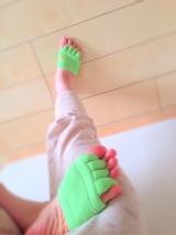 足指をぐっと広げるソックスの画像(1枚目)