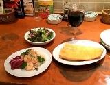【赤坂】 2名様以上で『グラスワイン1杯づつ+タパス1皿+サラダ+バゲット1本』の画像(3枚目)