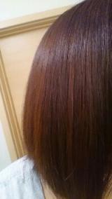 口コミ:髪に優しい天然成分でハリ・コシ・ツヤUP♪マックヘナ ナチュラルオレンジを試してみた@2回目の画像(2枚目)