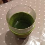 乳酸菌が入った、青汁飲んでみました♪の画像(2枚目)
