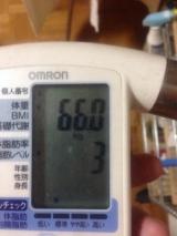 2014年2月19日 66kgの画像(1枚目)