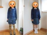 【子ども服】ランズエンドのコットンカーディガンで品よく、上品に♪の画像(3枚目)