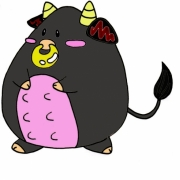 「黒牛さん」飛騨牛販売専門店 黒牛亭 マスコットキャラクター イラスト募集の投稿画像