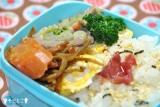 「今日のお弁当☆春を感じるヘルシーなカツ。。(*^^*)☆」の画像(1枚目)