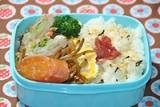 今日のお弁当☆春を感じるヘルシーなカツ。。(*^^*)☆の画像(4枚目)