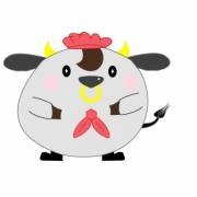 「店員sanの一員デス♫」飛騨牛販売専門店 黒牛亭 マスコットキャラクター イラスト募集の投稿画像