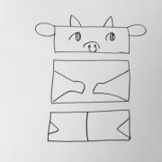 「ウッシーシー」飛騨牛販売専門店 黒牛亭 マスコットキャラクター イラスト募集の投稿画像