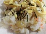 「お昼はちらし寿司!」の画像(1枚目)