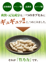 鹿児島県産孟宗竹100%の爽快サプリ『竹乃力』①の画像(1枚目)