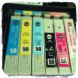 第3段!エプソンIC50互換インクカートリッジ顔料タイプ当選*