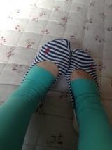 ハリ脚に悩む女性におすすめ!プレッガーズ段階式着圧春夏カラーフットレスタイツの画像(8枚目)