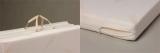 2014東京西川 高反発素材三つ折敷布団ドルメオ 一層タイプで安眠、安心!