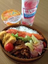 冷蔵庫残り食材弁当 〜ヘルシアモニターの画像(1枚目)