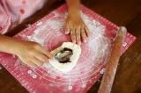 「おうちパン工房 小麦の匠」でうずまきあんパンの画像(4枚目)