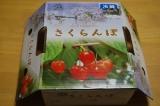 「山形さくらんぼ『紅秀峰』は大粒で甘いね♪♪」の画像(1枚目)