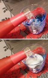 フルーティな発泡清酒「花の香702スパークリング」