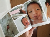 出産前に写真の整理を