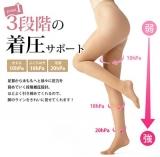 「「斉藤先生監修!「着圧で美脚ストッキング」と大根2本w」の画像(4枚目)