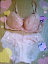 「モニプラ × ペコブラ Vシリーズのブラ&ショーツセット」の画像(3枚目)