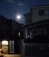 昨日のお月様の画像(1枚目)