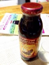 有機アロニア100%果汁。