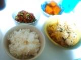 白菜と鶏団子の煮物❤の画像(1枚目)