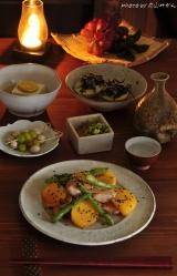 【秋の絶品料理】柿と鶏肉の味噌いための画像(5枚目)