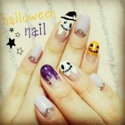 「Happy Halloween♡」ネイルアートコンテストでジェルネイルキットを5名様プレゼント★お題はハロウィンの投稿画像