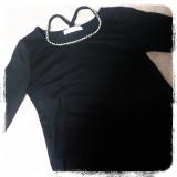 【モニター】パールビジュー付長袖Tシャツ/夢展望株式会社の画像(3枚目)