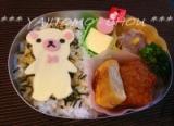 今日のお弁当♪の画像(1枚目)