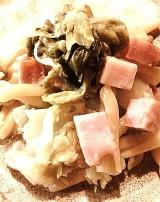 美容にも良い麹を上手に摂りいれよう~~。今晩のメニューは『優しいお味の麦みそクリームパスタ』