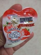 冬の蒟蒻畑いちごミルク☆の画像(2枚目)