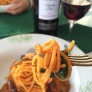 パスタとワインのマリアージュ