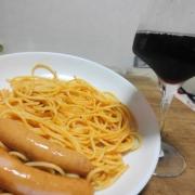 「友人たちと楽しい新年会!」日清フーズ 『ワインでパスタしよう』フォトコンテストで冷凍パスタをプレゼントの投稿画像