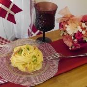 「ブランチにワイン&パスタ♪」日清フーズ 『ワインでパスタしよう』フォトコンテストで冷凍パスタをプレゼントの投稿画像