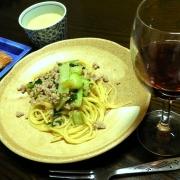 「変わり種ペペロンチーノ」日清フーズ 『ワインでパスタしよう』フォトコンテストで冷凍パスタをプレゼントの投稿画像