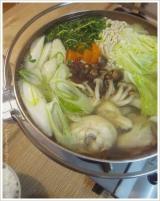 寒い夜は鍋...ナベ鍋☆ブツ切りの鶏肉はダシも最高の博多水炊きday☆の画像(2枚目)