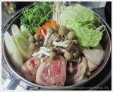 寒い夜は鍋...ナベ鍋☆ブツ切りの鶏肉はダシも最高の博多水炊きday☆の画像(1枚目)