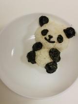 3Dパンダのデコご飯☆の画像(5枚目)