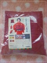 「【京座布団高岡】座布団と幸せを運ぶ    山田たかおの幸せ小座布団 」の画像(1枚目)