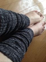 手もと足もとの保温に、天然繊維で柔らかい☆★シルクこっとんカバー★☆を試してみました。の画像(7枚目)