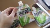 大粒アロエinクラッシュタイプの蒟蒻畑パイナップル味の画像(1枚目)