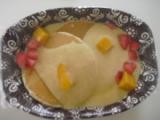 わたしの旅ごはん ハワイアンパンケーキ&フルーツソースの画像(2枚目)