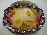 わたしの旅ごはん ハワイアンパンケーキ&フルーツソースの画像(3枚目)