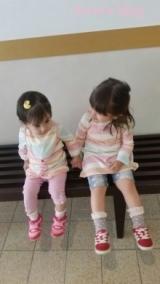 姉妹お揃いコーデ☆の画像(1枚目)